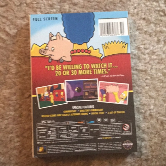 Other The Simpsons Movie Dvd Poshmark